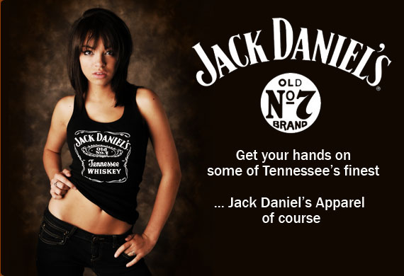 Jack Daniels Apparel and Clothing
